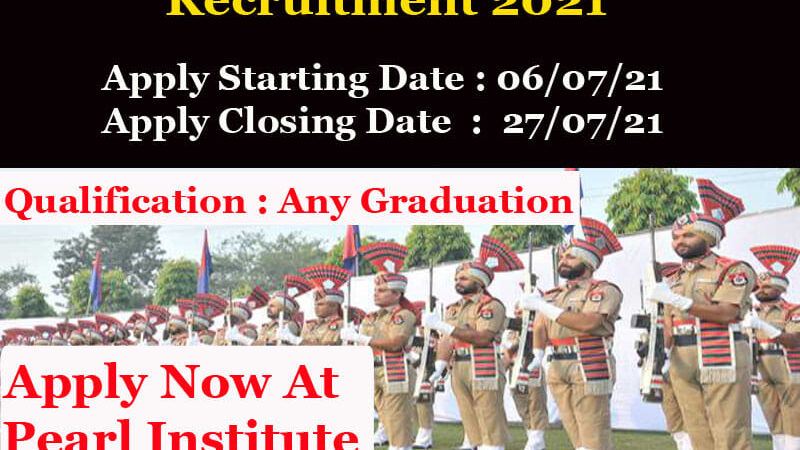 Punjab Police SI Recruitment 2021 Apply Online Now